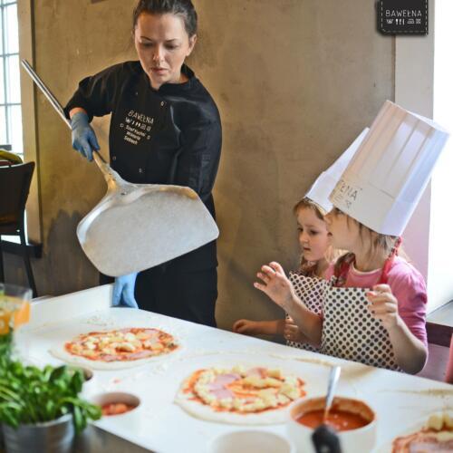Warsztaty z pizzy dla dzieci