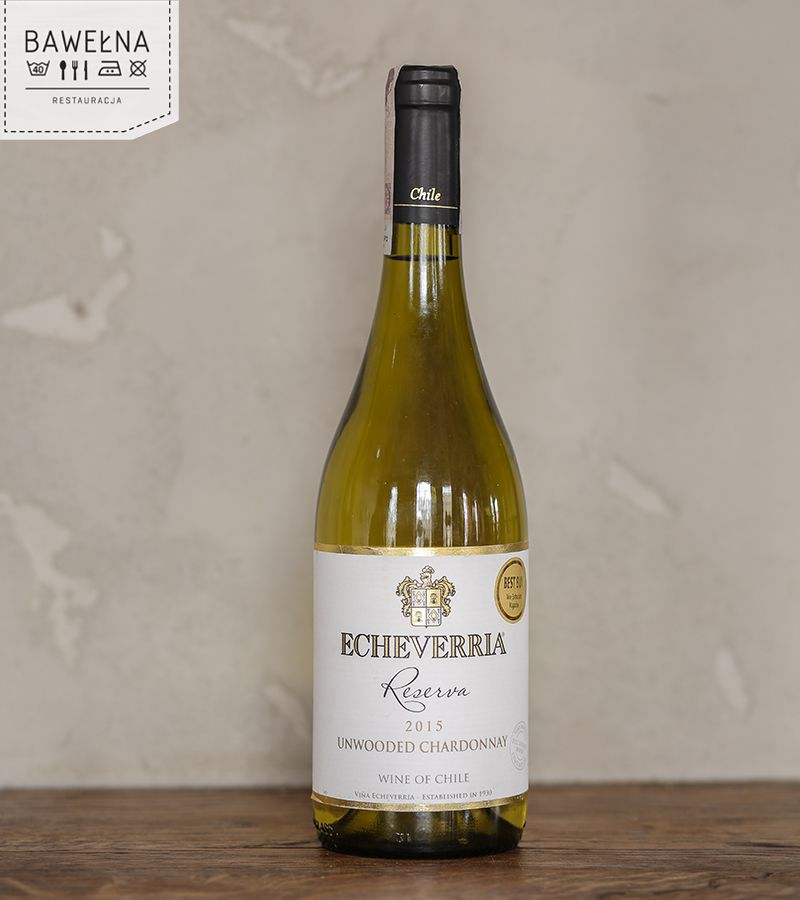 Echeverria Classic Collection Unwooded Chardonnay