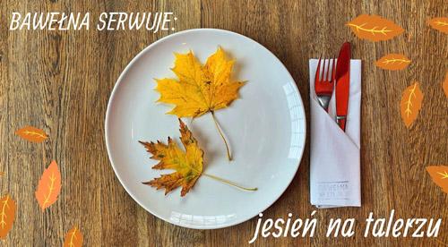 jesień na talerzu
