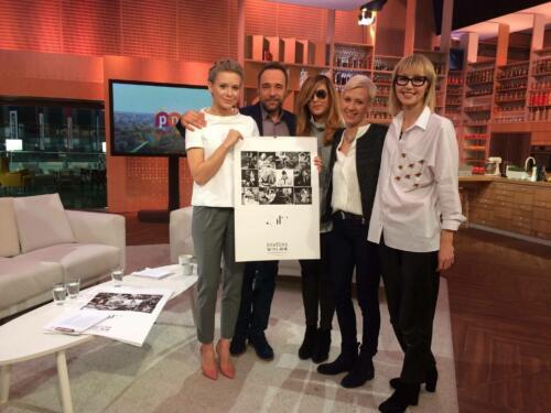 Promujemy kalendarz Bawełny i wspieramy Kasię Dacyszyn w 'Pytaniu na śniadanie'