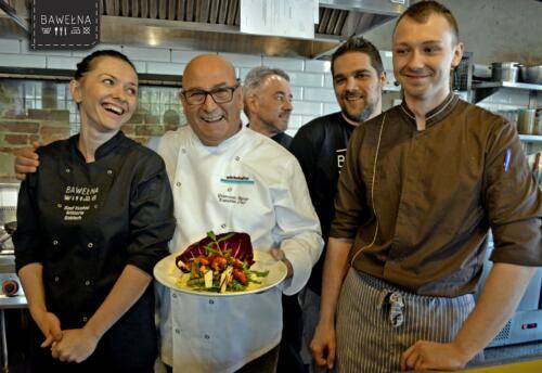 Giancarlo Russo - wspólne gotowanie